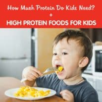 High Protein Foods for Kids + How Much Protein Do Kids Need