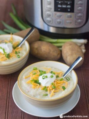 Instant Pot Baked Potato Soup