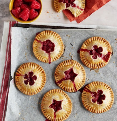 Kid-Friendly Raspberry Hand Pies