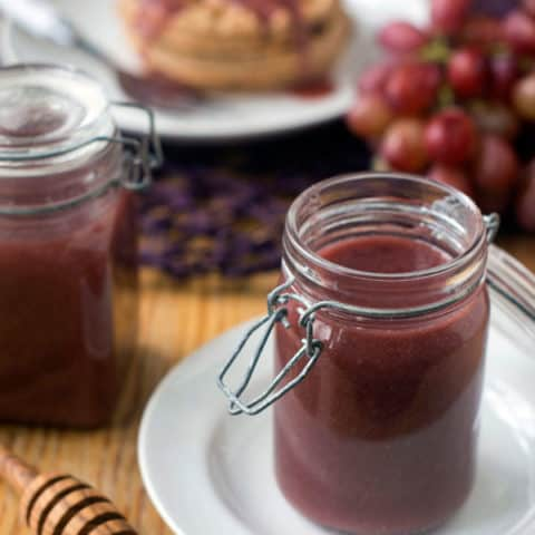 Roasted Grape Syrup