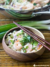 Shrimp Egg Roll in a Bowl