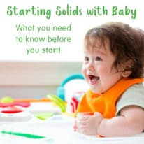 What to Know Before Starting Solids with Baby