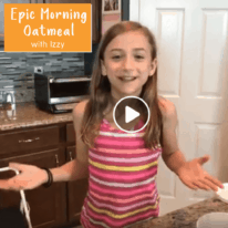 Kid-Friendly Epic Morning Oatmeal Video