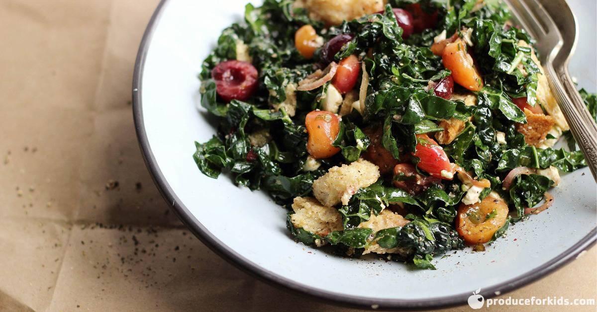 Savory Roasted Cherry Panzanella Salad