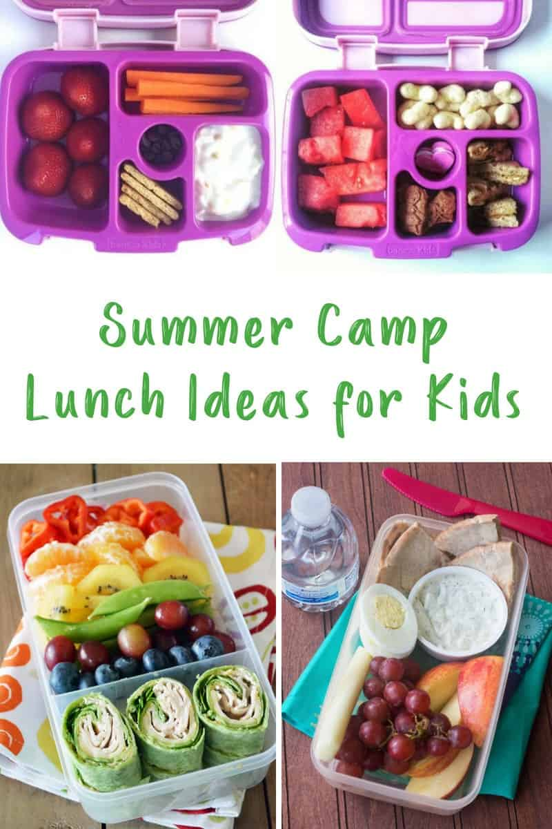 Summer Camp Lunch Ideas for Kids