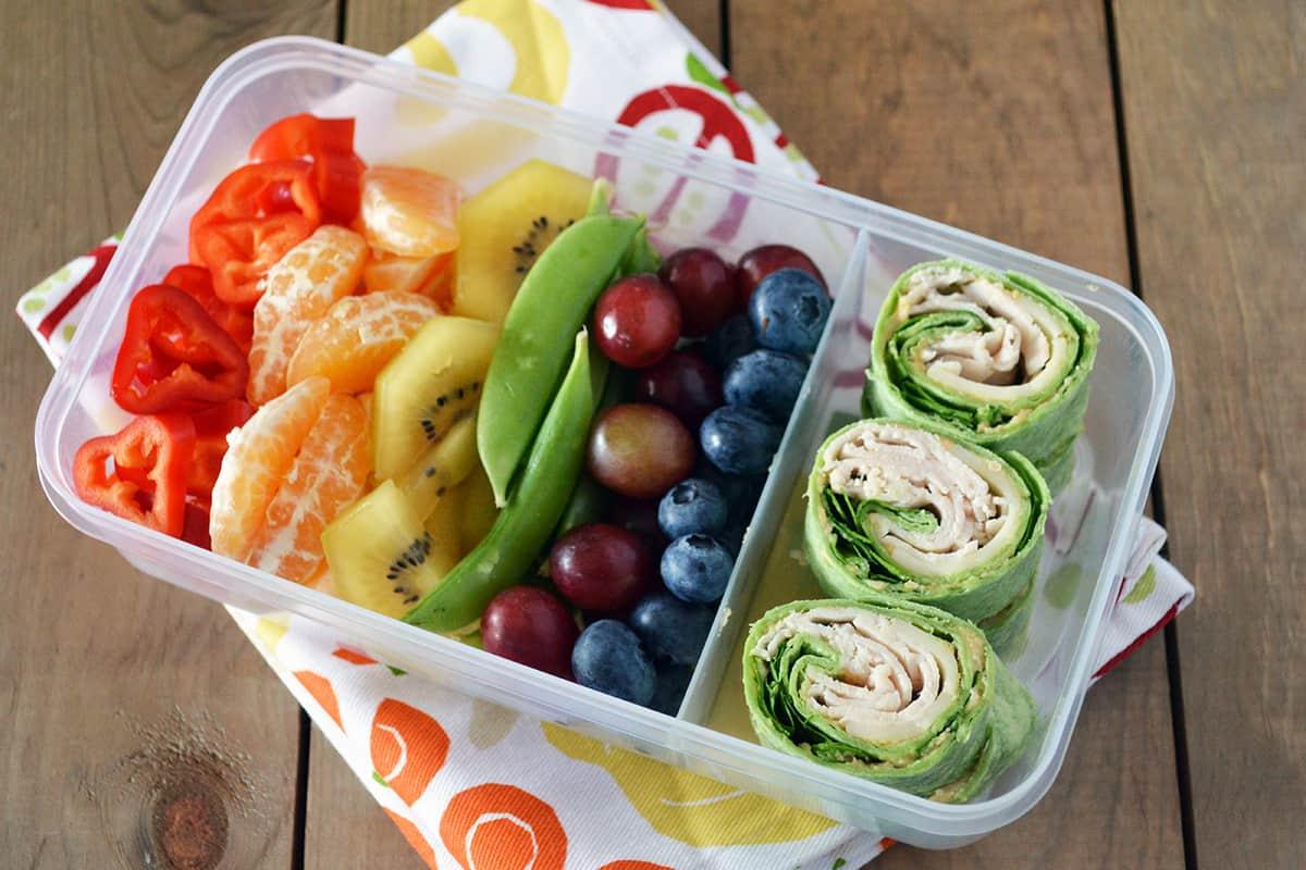 How To Make Rainbow Bento Lunchbox recipe