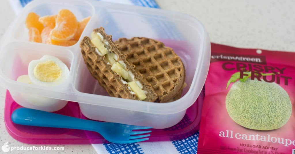 Breakfast Wafflewich Bento Box