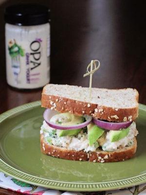 Chicken Caesar Salad Sandwiches