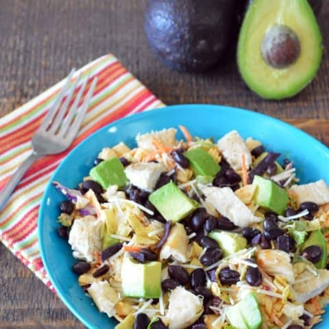 Chipotle & Cheddar Chopped Salad with Chicken