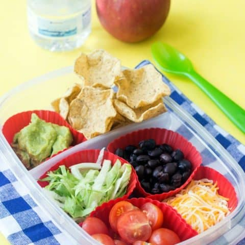 DIY Nachos Lunchbox