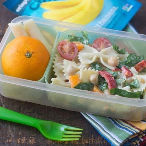 Veggie Caesar Pasta Salad