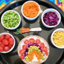 Veggie Rainbow Wraps