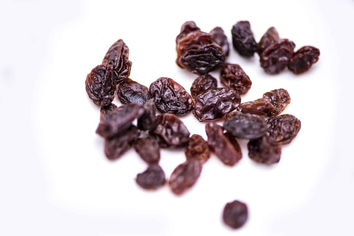 raisins for chicken salad pita sandwich