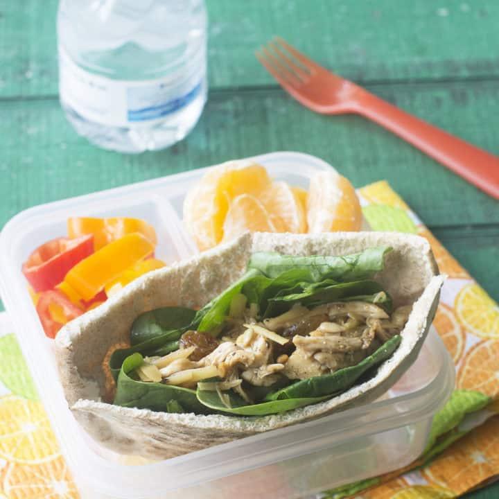 Chicken Salad Pita Sandwich