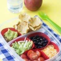 Easy DIY Nachos Lunchbox