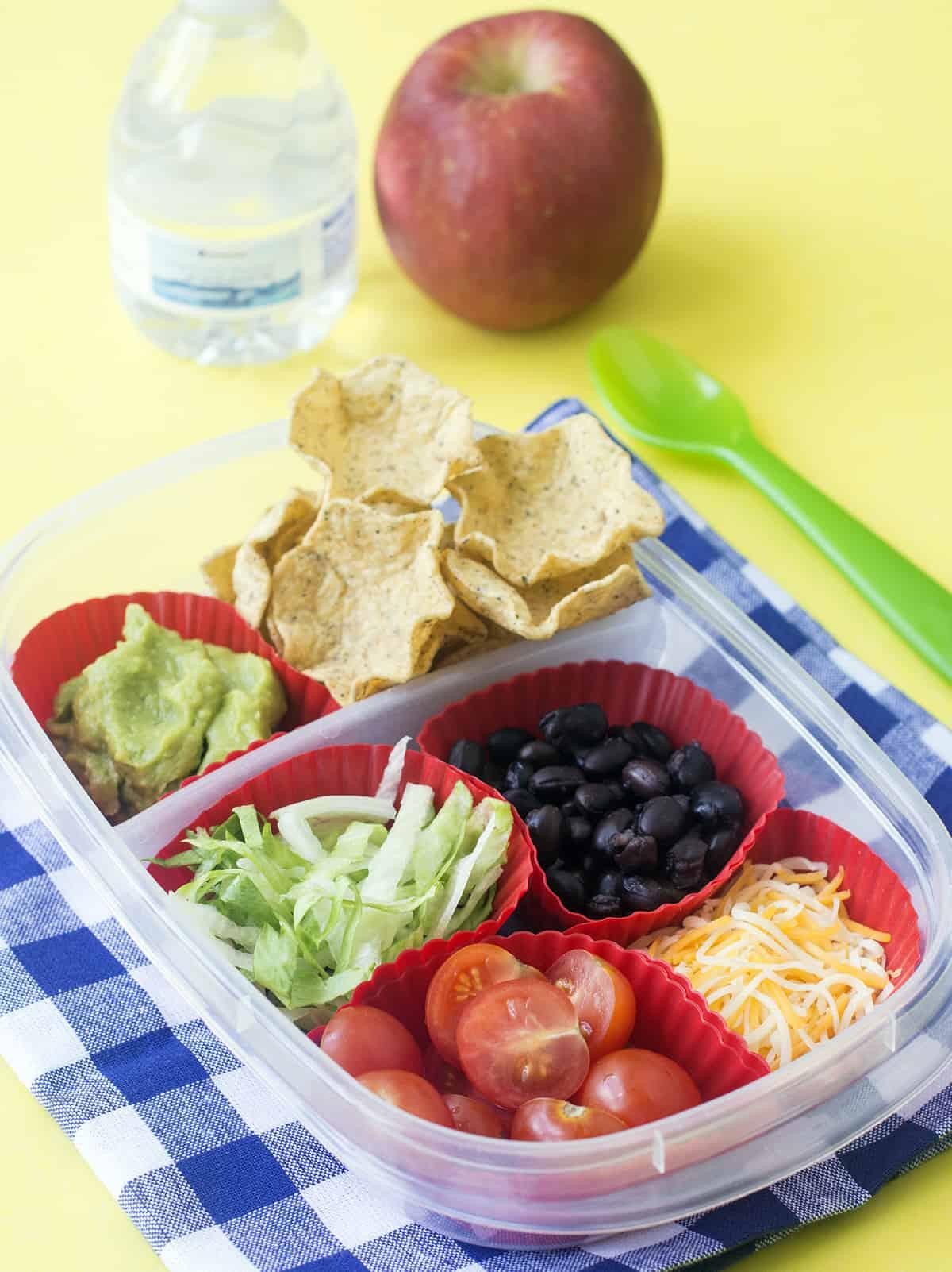 Best DIY Nachos Lunchbox