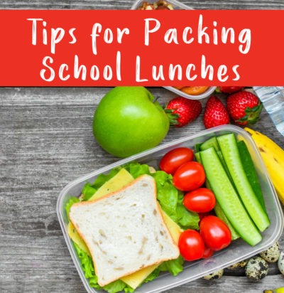 Tips for Packing School Lunches