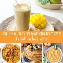 24 Healthy Pumpkin Recipes for Fall