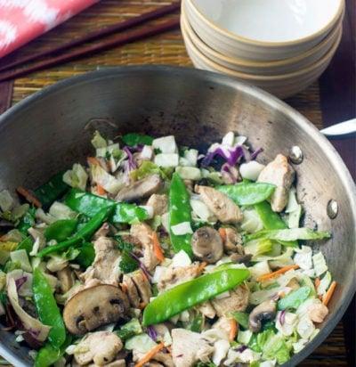 Asian Chicken Stir Fry