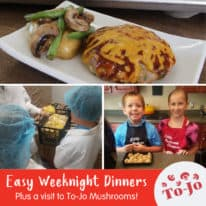 Easy Weeknight Dinners with To-Jo Mushrooms