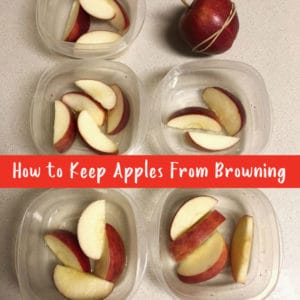 How to Keep Apples from Browning square
