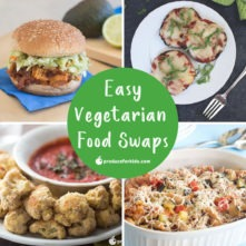 Easy Vegetarian Food Swaps