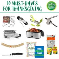 10 Must-Haves for Thanksgiving