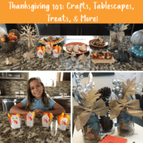 Thanksgiving 101: Crafts, Tablescapes, Treats, & More!