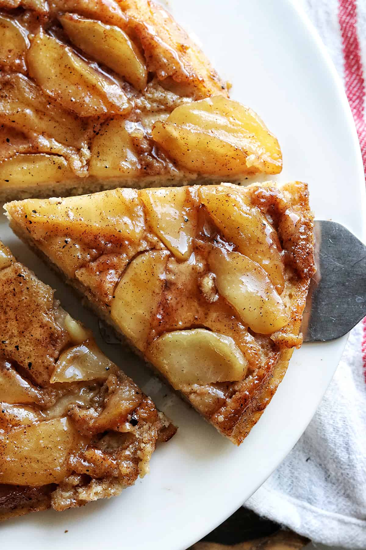 Best Upside Down Apple Pancake