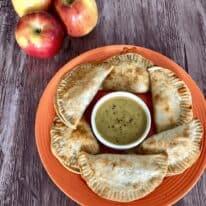 Apple, Ham & Cheddar Empanadas with Autumn Glory® Apples
