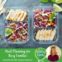Episode 22: Meal Planning for Busy Families