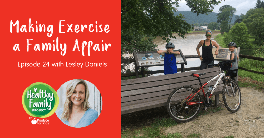 Making Exercise a Family Affair