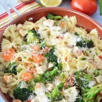 Lemon Chicken & Veggie Pasta