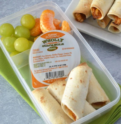 BBQ Chicken Taquitos Lunchbox