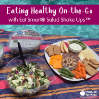 Eating Healthy On-the-Go with Eat Smart® Salad Shake Ups™