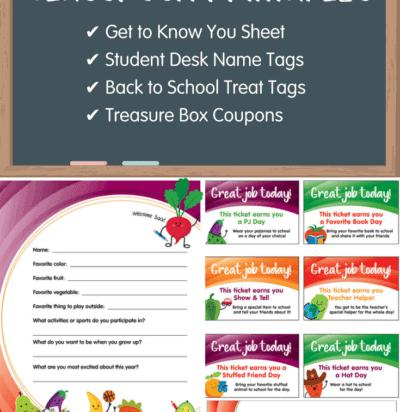 Free Classroom Printables; Free Teacher Printables | Produce ...