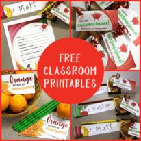 Free Classroom Printables for Teachers