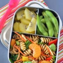 Chinese Mandarin Pasta Salad Bento Box