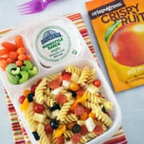 Pizza Pasta Salad Lunchbox