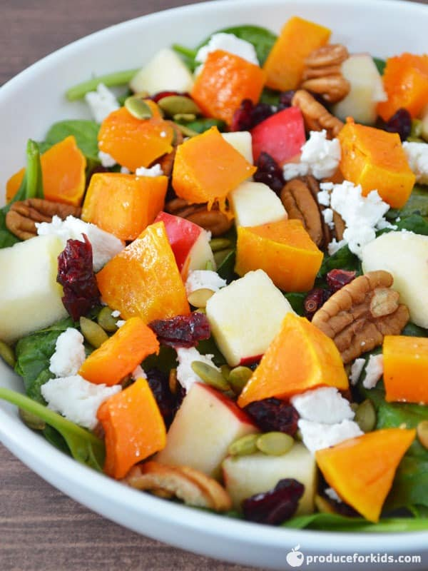 Fall Harvest Salad with Apple Cider Vinaigrette