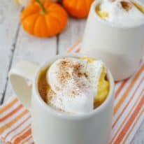 "Kid-Friendly Pumpkin ""Latte"""