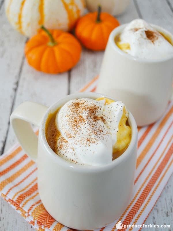 Easy Kid Friendly Pumpkin Latte