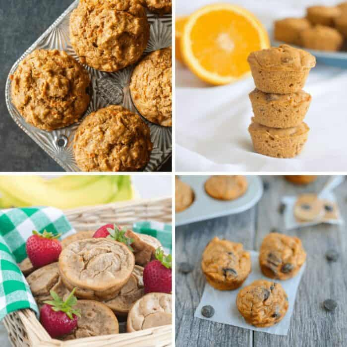 Collage of muffins recipes