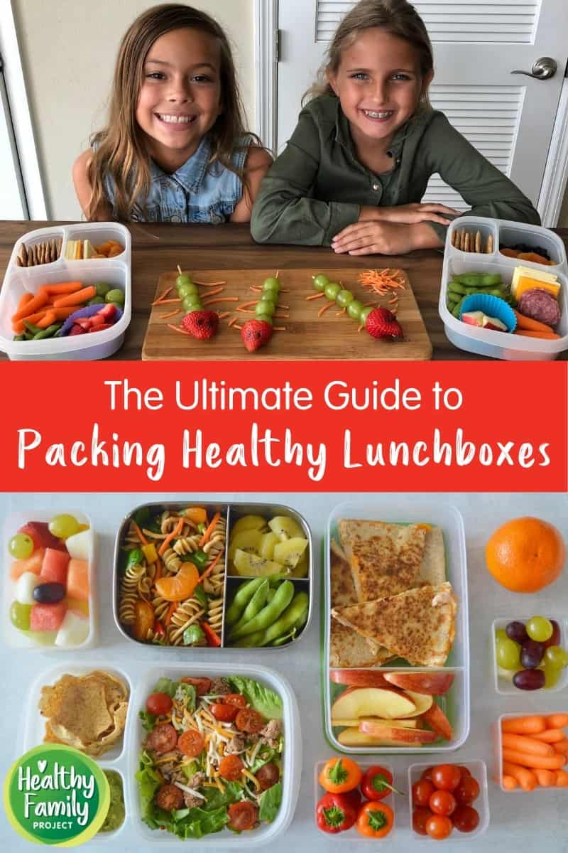 We pulled together our most popular lunchbox packing tips, tricks, recipes, and more for this ultimate guide to packing healthy lunchboxes!