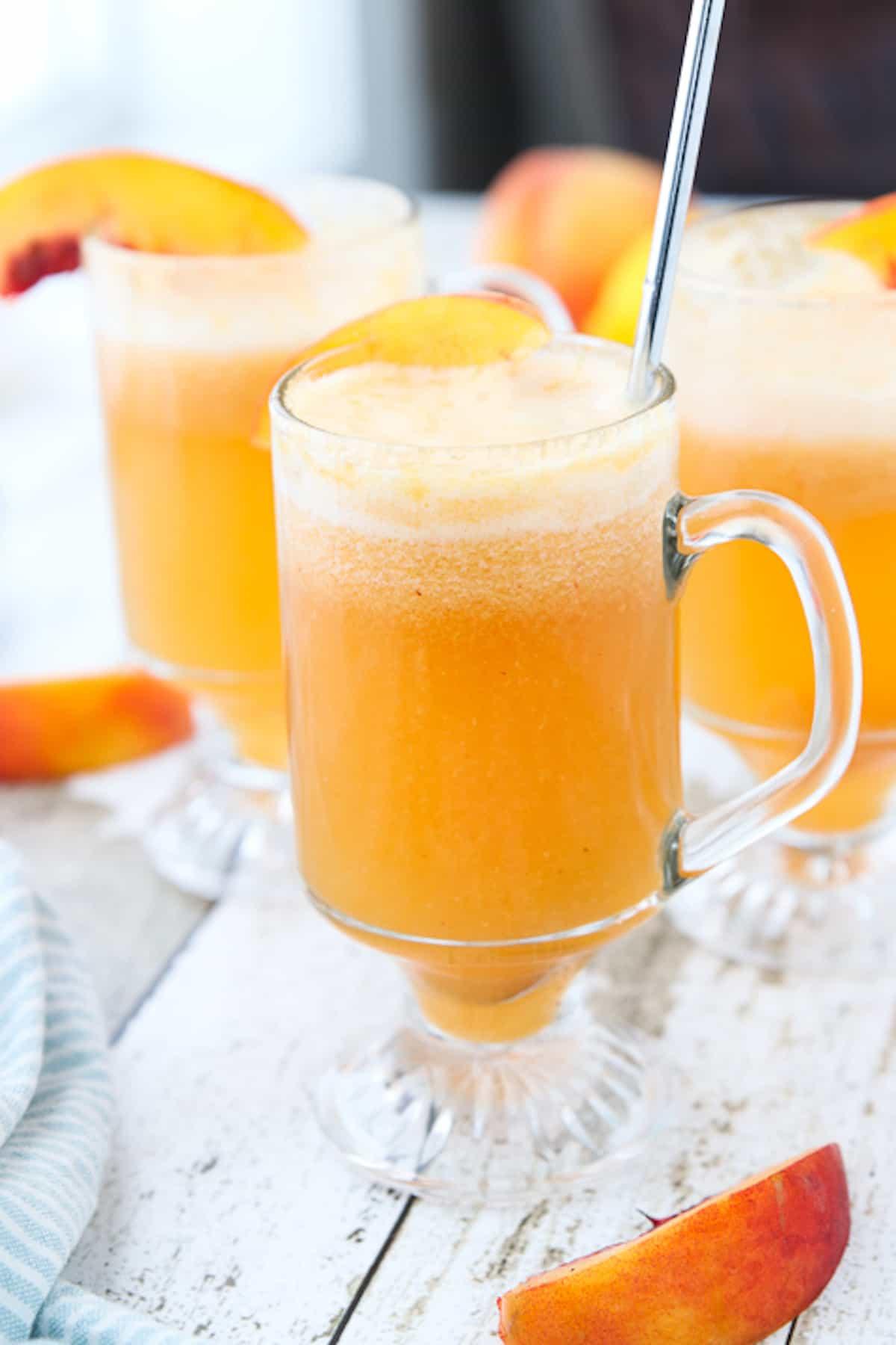 Sparkling Peach Punch