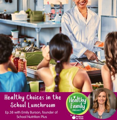 Episode 38: Healthy Choices in the School Lunchroom