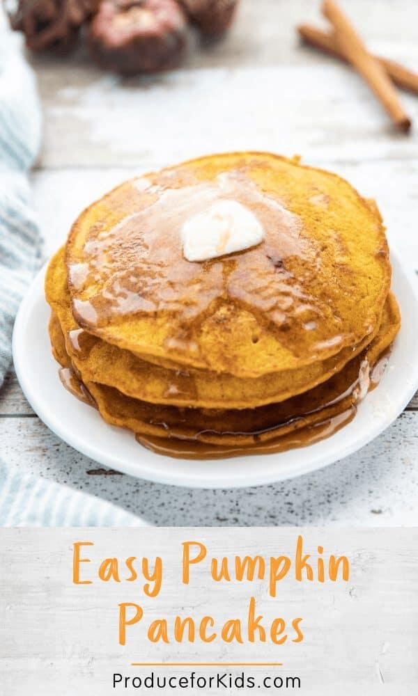 Tasty Pumpkin Pancakes
