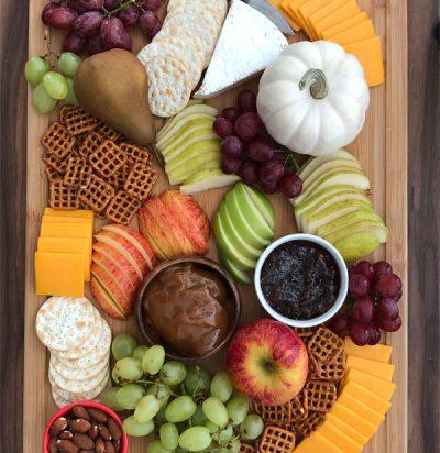 Fall Harvest Snack Board