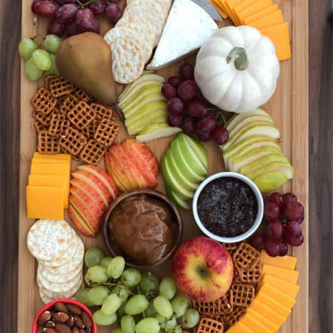 Fall Harvest Snack Board
