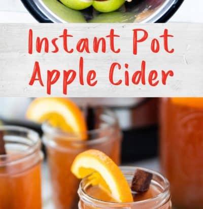 Instant Pot Homemade Warm Apple Cider